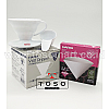 Paket Hario V60 Coffee Dripper White + Paper Filter 01 Pour Over Kit